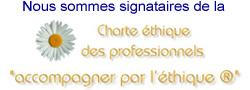 Charte éthique des professionnels Accompagner par l'éthique®